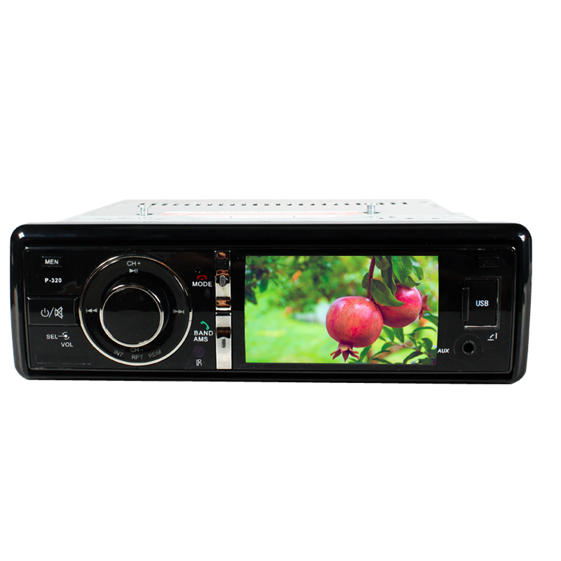 3 Single Din Car DVD Player Radio Stereo Detachable Panel Video Subwoofer Push Screen AUX Camera with VCD/MP3/SD/USB/FM SH3581 цена