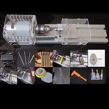 L-01 DIY Multifunción Madera Torno Mini Torno Máquina Pulidora Sierra De Mesa para el pulido De Corte para trabajar la madera