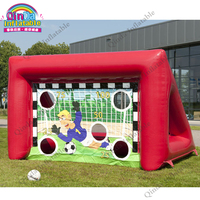 sport toys Inflatable soccer frame football door,football shooting target goal post soccer goal target