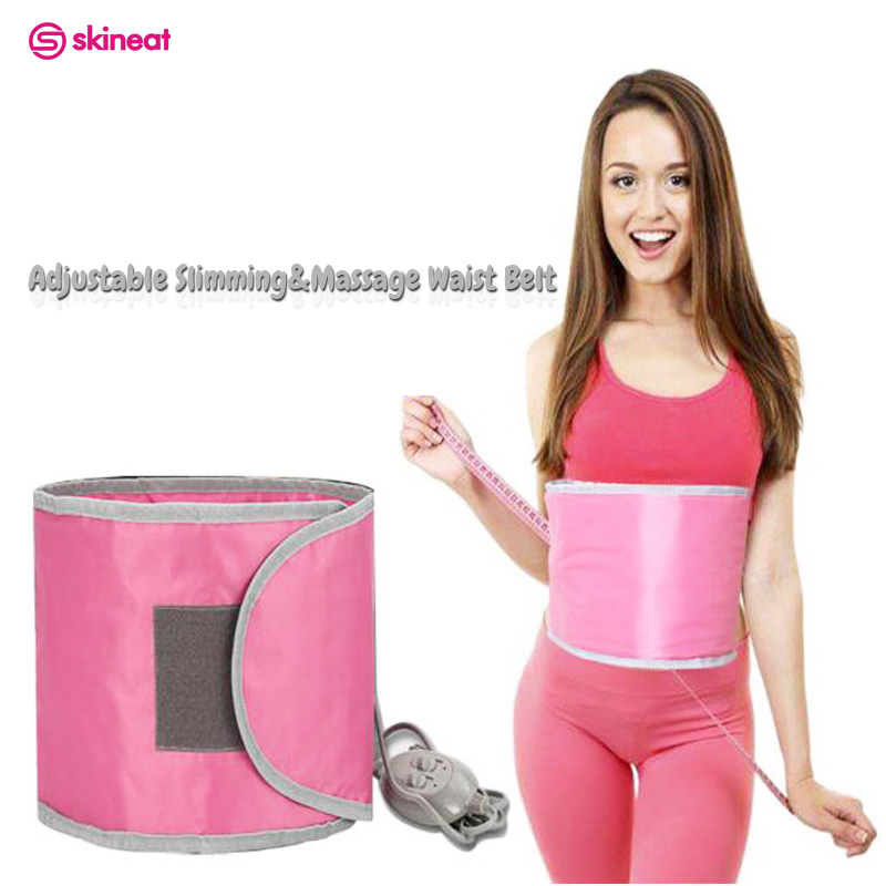 Skineat New Arrival Adjustable Slimming Waist Belt Rejection of Fat Burning Belly Massage Cellulite  Reduce Body Fat For Females body liposuction machine powerful slimming massager shake instrument to reduce belly fat burning