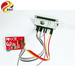 Набор для разработки DOIT ESP8266, включая Nodemcu + 1,44 дюймовый TFT дисплей Spi красочное светодиодное изображение iot температура DIY RC игрушка
