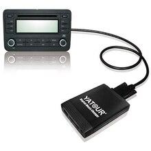 YATOUR música Digital cambiador de AUX USB SD MP3 adaptador para VW Radio Delta MFD2 Premium R100 R110 RCD200 RCD210 RCD300 RCD500 RNS300