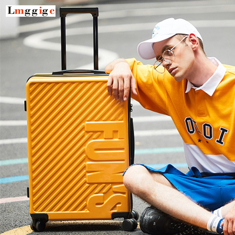 NEW 2024 inch PC Travel Rolling Luggage Suitcase Bag,Personality Trolley Case,youthful boy Carry-On,Girl Multiwheel Box new fashion style cute toy motorcycle shape kids children rolling luggage boy and girl trunk trolley case travel box suitcase
