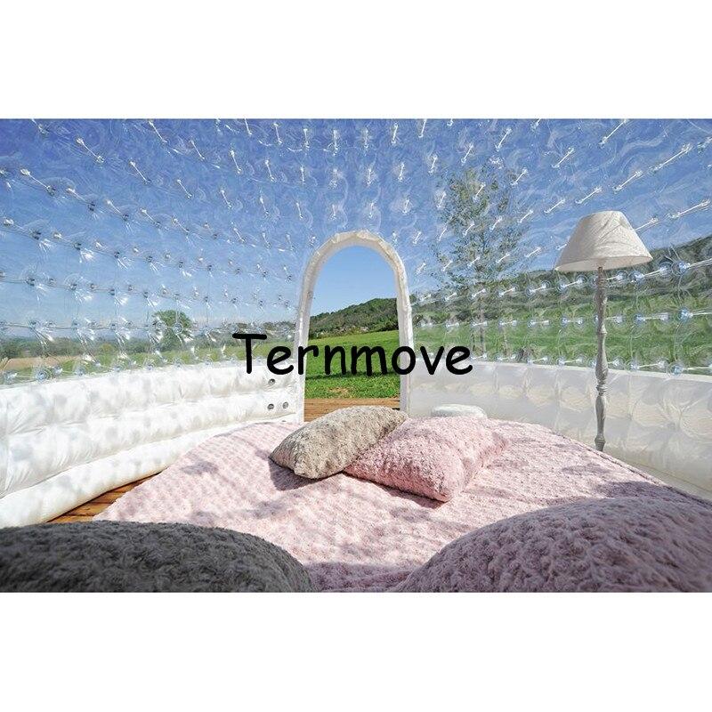 Надувной купол пузырь шатра дерева (двойной слой) коммерческой рекламы один раз, открытый партии надувные Палатка используется для путешес...
