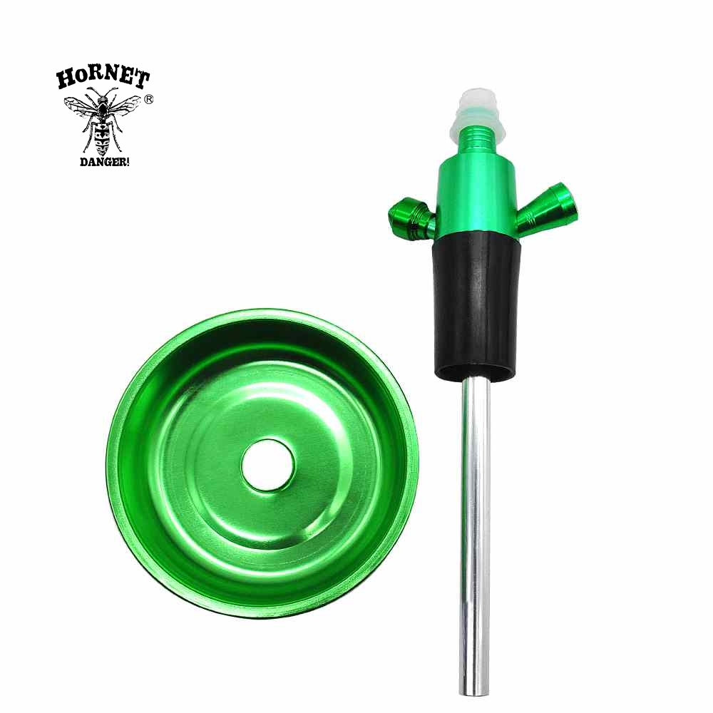 Image 5 - Aluminun Shisha Narguile Top Hookah Stem for Wine Bottle ChiCha Hookah Kit Adapter Suit For Most Of Bottle Shisha Accessories-in Shisha Pipes & Accessories from Home & Garden
