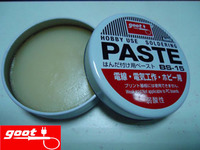 Original Japan GOOT Brand BS 15 Hobby Use Resin Solder Paste NW 50g Weak Acid Flux
