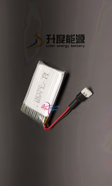customized product !! 600mah <font><b>702540</b></font> 3.7V popular battery model Connector type rechargeable lipo battery 3.7V image
