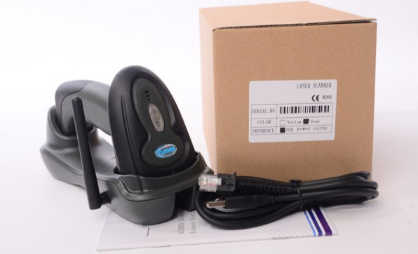 Z903 32bit laser barcode scanner with cradle 433Mhz wireless barcode reader 2d wireless barcode area imaging scanner 2d wireless barcode gun for supermarket pos system and warehouse dhl express logistic