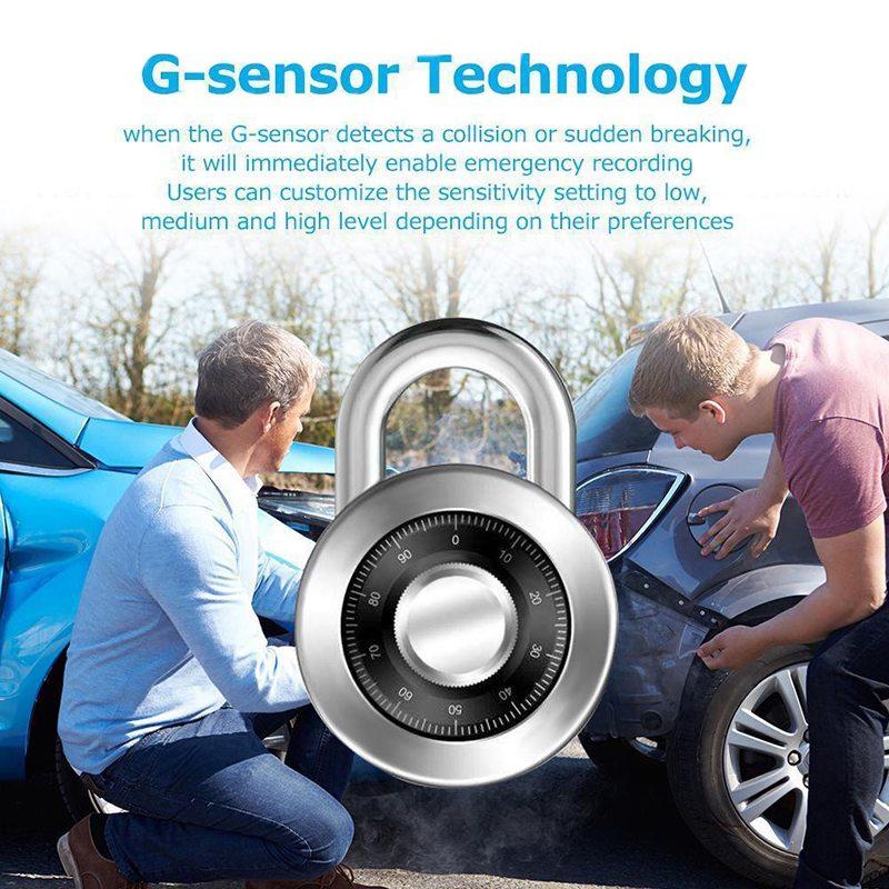 VicTsing 1080P Car DVR Camera Video Recorder WiFi ADAS G-sensor Recorder Android Auto Digital Video Recorder Dash Cam Full HD (9)