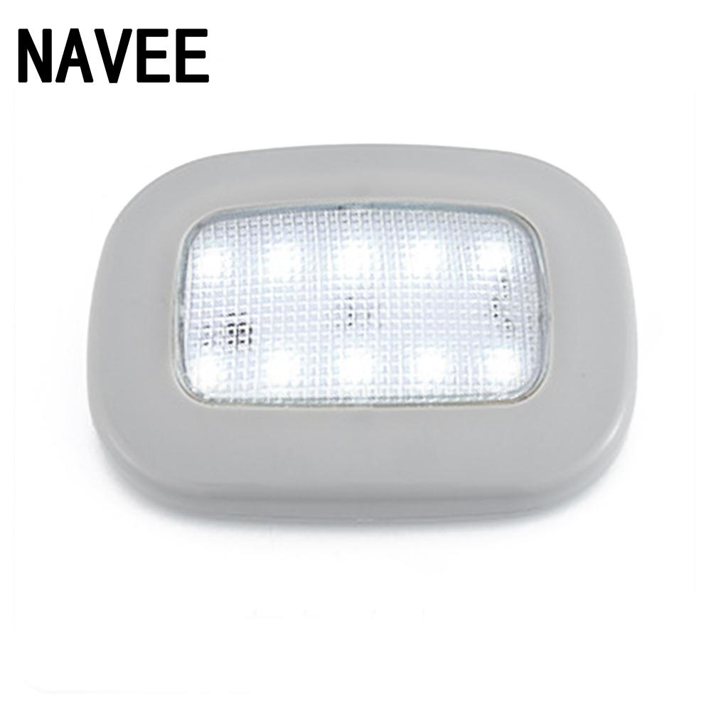 Car Reading Light USB Charging Magnet Roof Auto Interior Light Square Dome Ceiling Interior Reading Light Vehicle Lamp