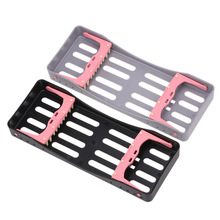 Dental Plastic Sterilization Rack Surgical Instrument Box Disinfection Dentist Tools