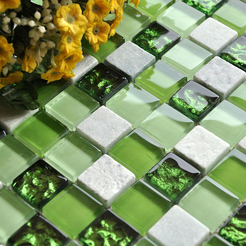 Green Glass Tile Bathroom: Online Buy Wholesale Stone Kitchen Island From China Stone