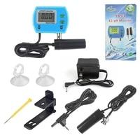 EC pH Monitor 2in1 Aquarium Water Quality Tester medidor de ph Analyzer Online 14.00pH 19.99ms/cm EC Meter Electrode Acidometer