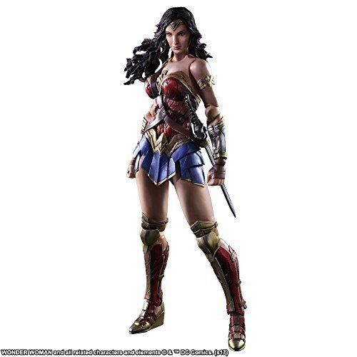 Wonder Woman DC Comic Super Hero Justice League Dawn Of Justice Batman vs Superman Play Arts Kai PA 26cm Action Figure Toys new hot 19 22cm justice league batman v superman dawn of justice wonder woman action figure toys collection christmas gift doll