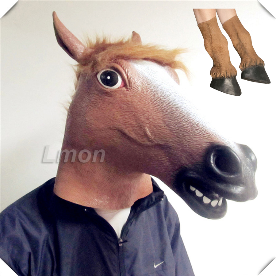 Popular Horse Head Masks-Buy Cheap Horse Head Masks lots from ...