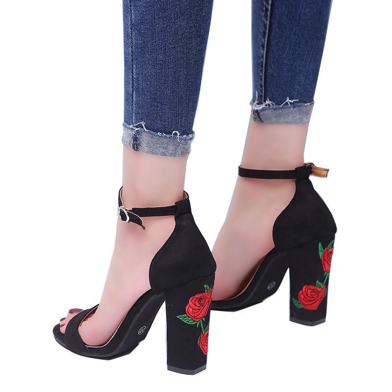 Women 10 Cm Ultra High Heels Shoes Open Toe Summer Sandals Suede Women Pumps in Women 39 s Pumps from Shoes