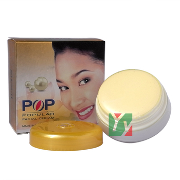 Hot POP Pearl whitening Acne Treatment Facial Cream Concealer Skin Care 4g