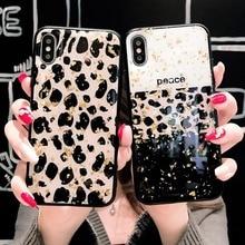 Bling Sequin Leopard Zebra pattern Case For iPhone