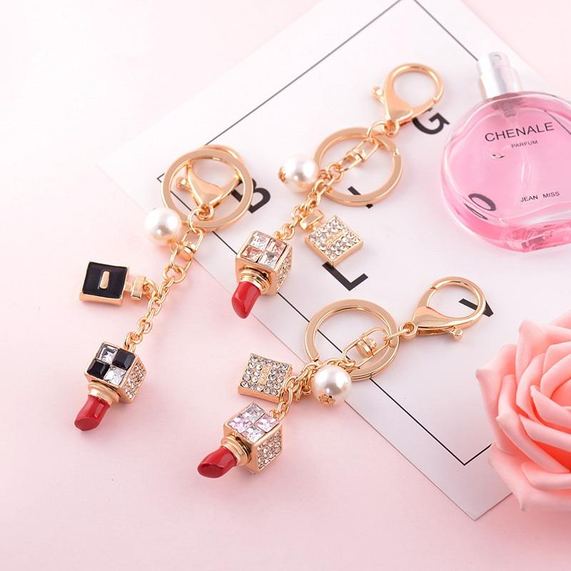 Special Rhinestone Crystal Bags Pendant Purse Bag Hanger Keychain Lady Idea Gift