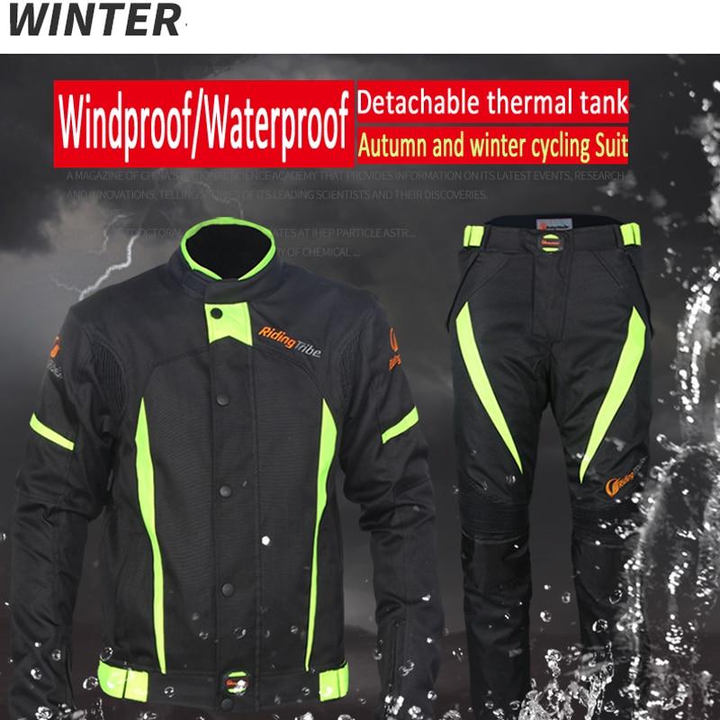 Équitation tribu Motocycle vêtements vestes pantalons hommes Moto course cyclisme costume imperméable Antifouling été hiver cavalier vêtements - 3