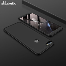 AKABEILA 360 Degree Protector Case For Huawei Honor 7C 5.99 inch Cases Cover Enjoy 8 Nova 2 Lite Phone Shells New