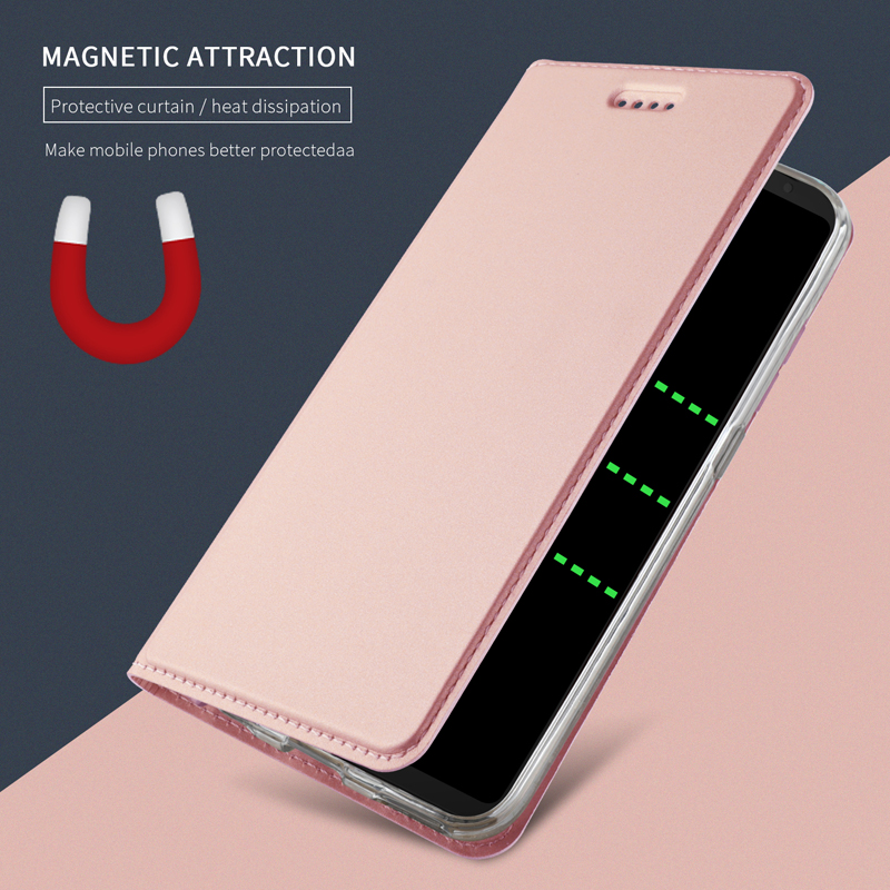 Rose Gold Leather Case for iPhone 11 Pro Max X XS XR 7 8 Plus Magnetic Flip Book Wallet Cover On i Phone 6 6S 5S SE Folio Coque