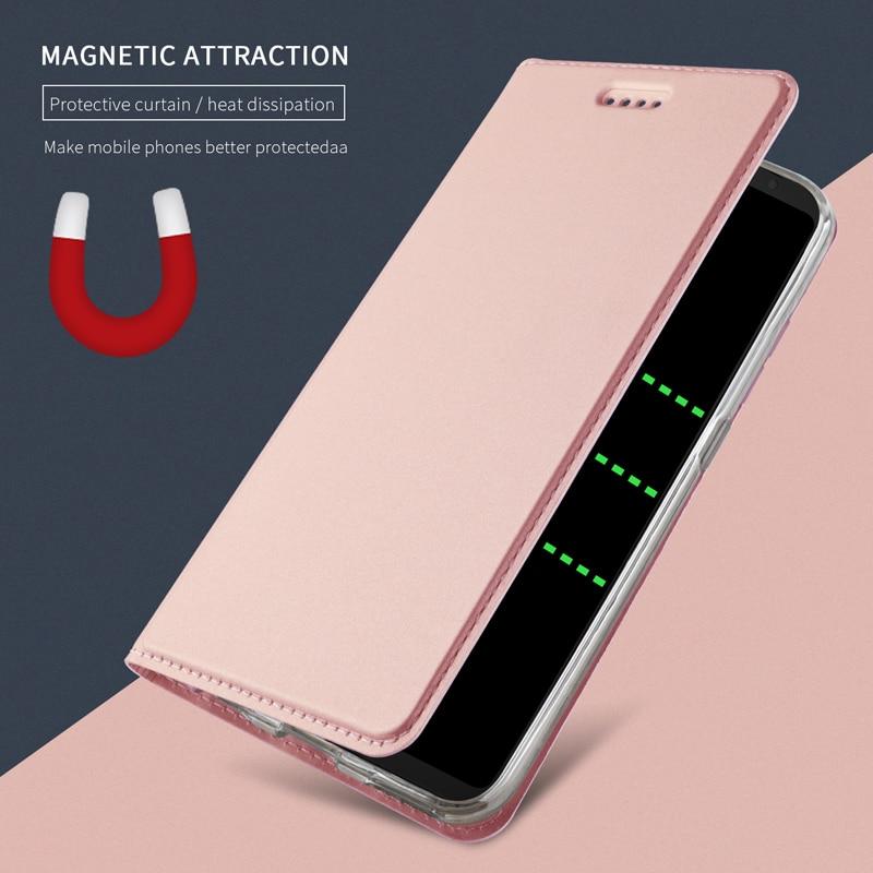 Gül Altın Deri Kılıf iphone 11 Pro Max X XS XR 7 8 Artı manyetik Flip Book Cüzdan Kapak i Telefon 6 6 S 5 S SE Folio Coque