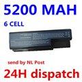 5200 mah batería as07b31 as07b41 as07b51 as07b61 as07b71 as07b72 as07b42 para acer aspire 5230 5235 5310 5315 5330 5520 5530