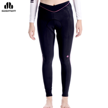 SOBIKE Women's Winter High Thermal Ressistance Riding Bike Pants With Pad Windproof Ciclismo Tights Cycling Cycle Sportswear