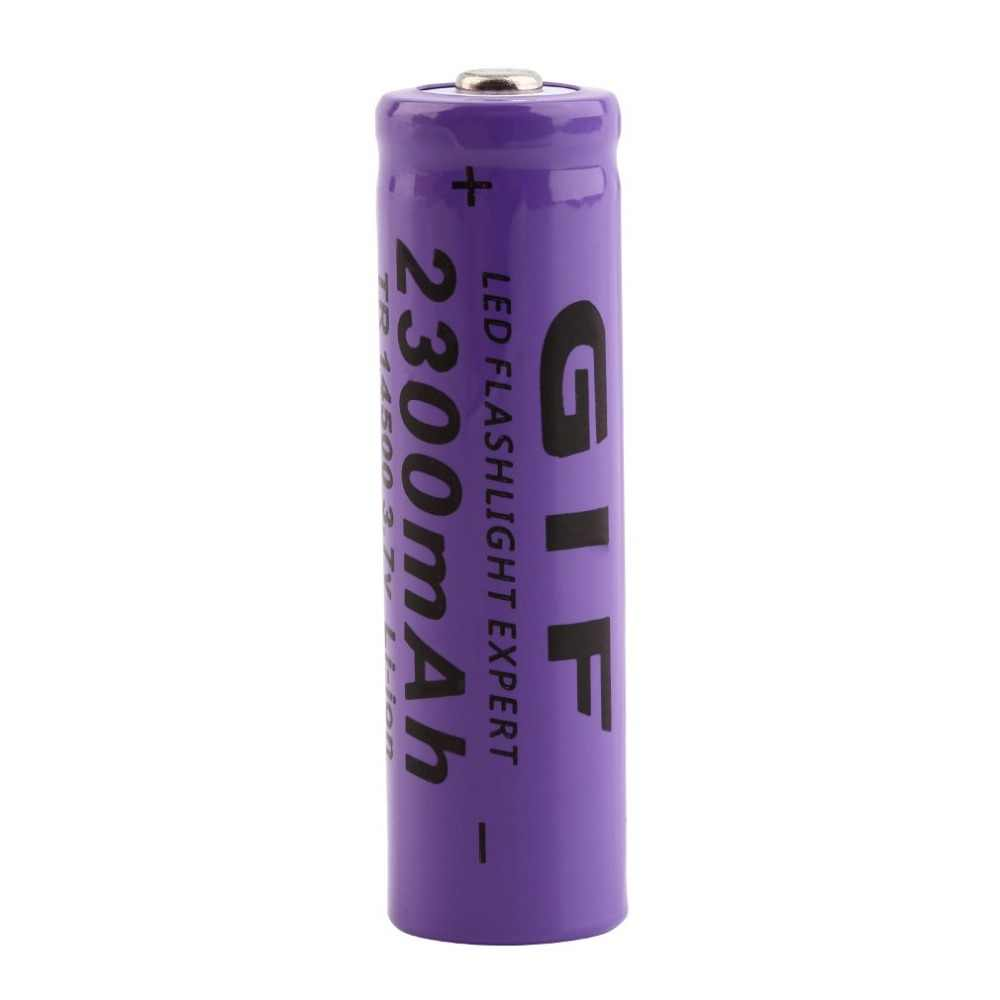 3.7V 2800mAh 14500 Battery Large Capacity Li-ion Rechargeable Battery Replacement For Flashlight Torch Battery