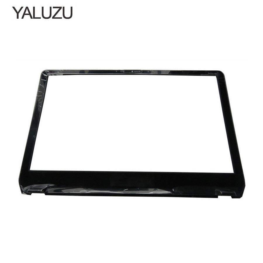 YALUZU NEW LCD Front Panel Screen Frame Display Bezel Case for HP Envy M6 M6-1000 M6-1035dx 728833-001 AP0YS000300 BLACK COVER vernee m6 4g phablet