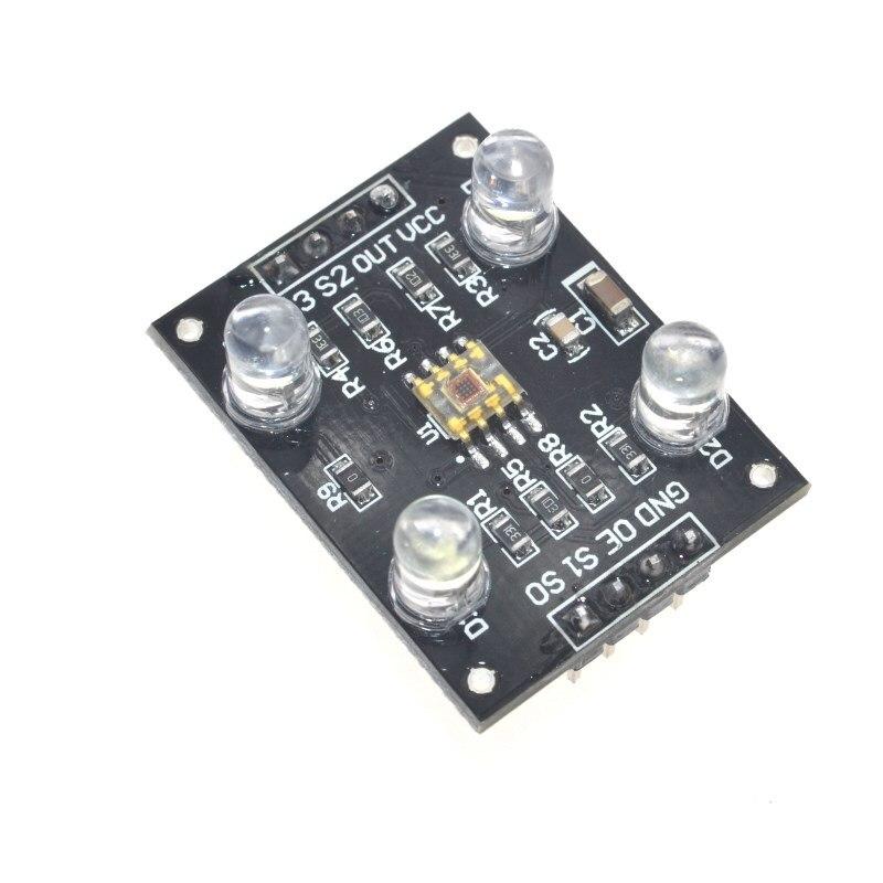 TCS3200 Farbsensor Detektor Modul Licht Frequenz Konverter für Arduino