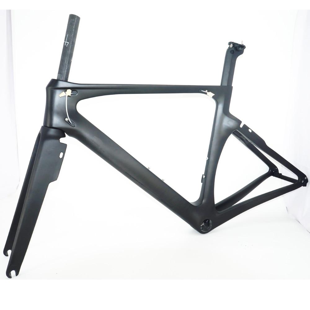 Full Carbon Fiber Aero Bike Frame Direct Mount Brake Road Frame Aero