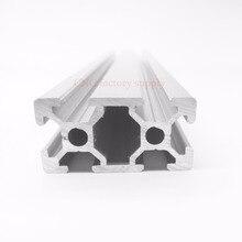 CNC 3D-принтеры Запчасти 4 шт./лот Европейский Стандартный анодированного V-слот линейной Rail Алюминий профиля 2040 для DIY 3D принтер