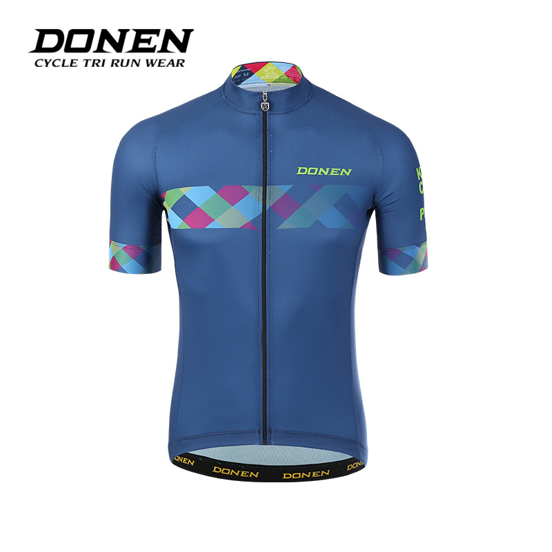 DONEN Cycling jersey 2018 cycling bib shorts Summer Style cycling set Bicycle Quick Drying Short Men Maillot Ropa Ciclismo arsuxeo ar608s quick drying cycling polyester jersey for men fluorescent green black l