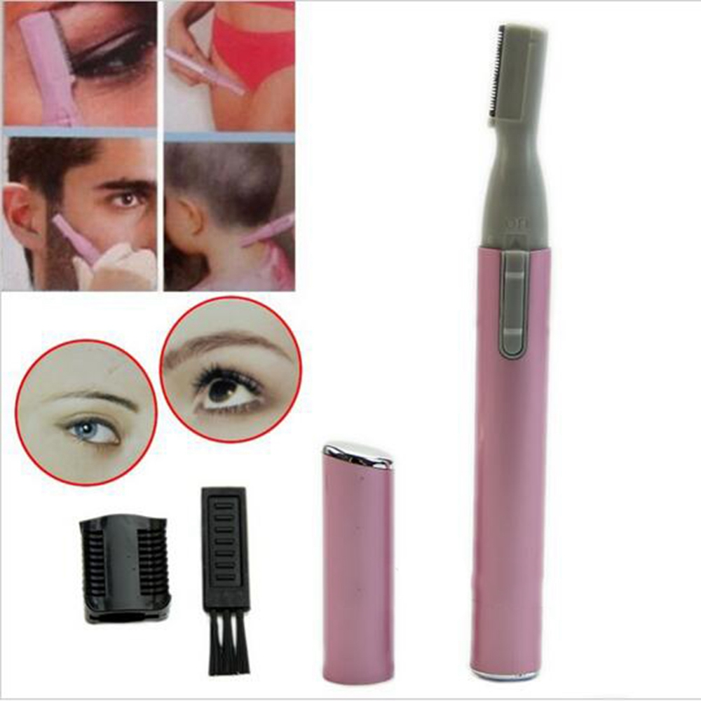 electric eyebrow trimmer. 1pcs women ladies body shaver razor epilator makeup accessories mini portable electric face eyebrow trimmer hair remover-in underwear from mother \u0026 kids on r