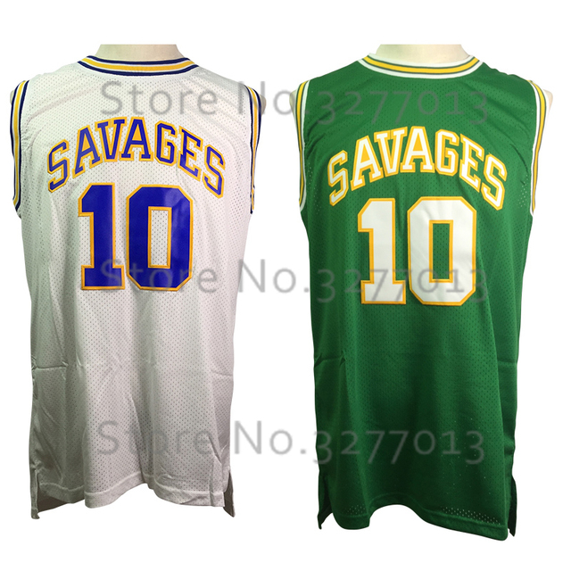950e9b71d 2018 Rodman Mens Shirts  10 Dennis Rodman Jersey Throwback Basketball  Jerseys OKLAHOMA SAVAGES College Jerseys Vintage Stitched