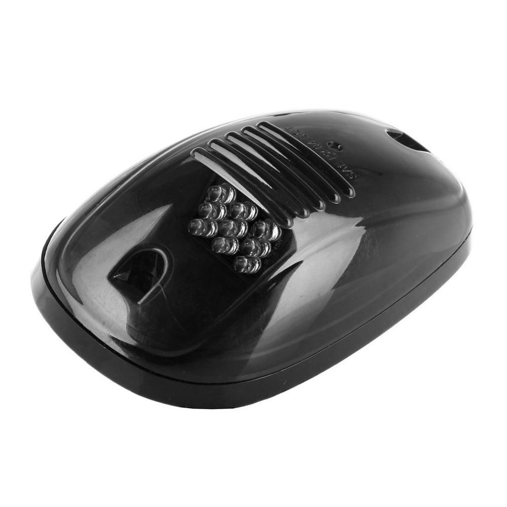5pcs/set Super Bright Smoke Black Finish Lens Amber LED Car Roof Marker Running Lights For Truck SUV 4x4 Yellow Light линза для маски ashbury warlock lens black smoke