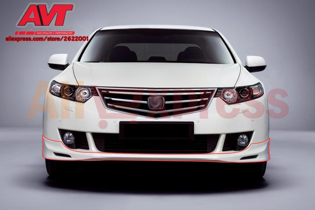 Aerodynamic Pad On Front Bumper Case For Honda Accord 8 2008 2011 Sport  Racing Accessories