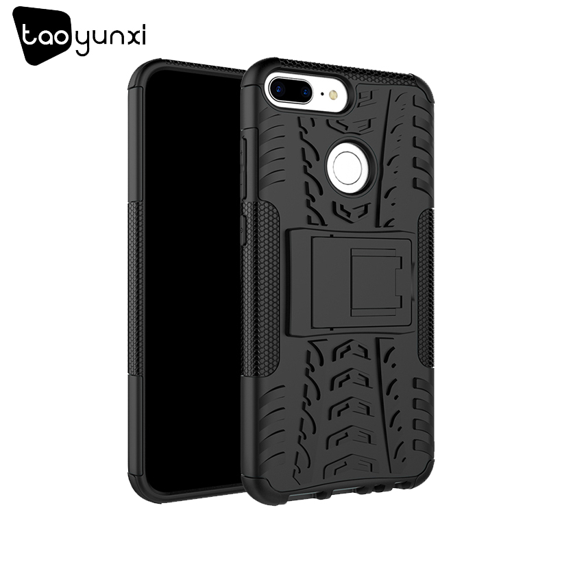 TAOYUNXI Case For Huawei Honor 9 Lite Cases For Huawei Honor 9 Youth Edition Hybrid TPU PC Military Kickstand AL00/AL10/TL10