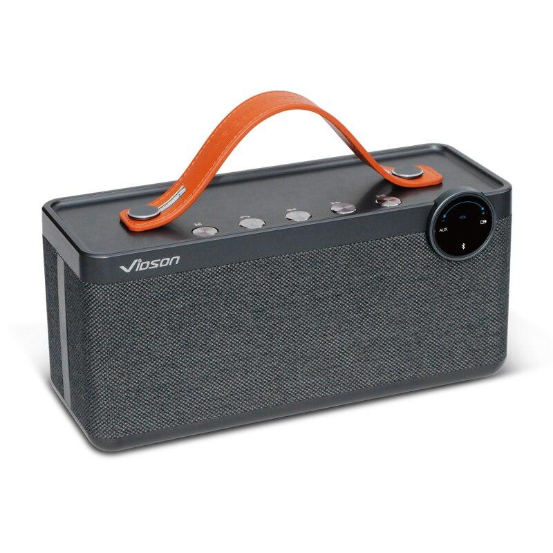 W-roi Boom Box Vidson V6 Portable Sans Fil Haut-Parleur Super Bass Sound Subwoofer 25 W Puissant Extérieure Bluetooth Haut-Parleur vaut Acheter