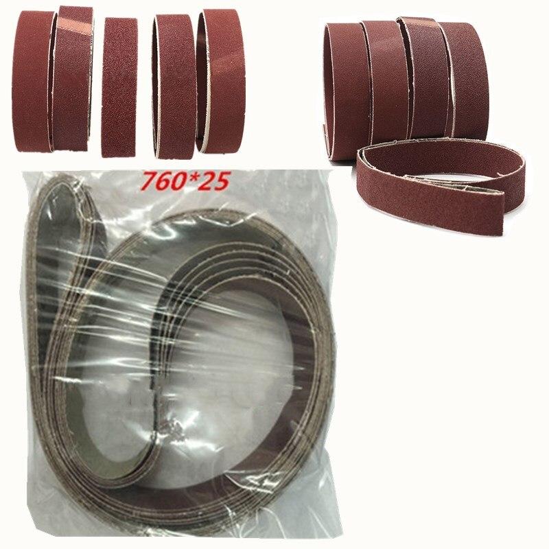 Tasp 10pcs 25x762mm Abrasive Sanding Belt 1x30 Belt Sander Sandpaper Woodworking Tools Accessories High Quality Abrasive Tools