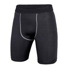Лидер продаж, 4 цвета, мужские Компрессионные спортивные шорты, спортивные шорты для тренировок, облегающие шорты с базовым слоем