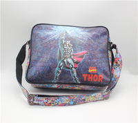 Bolsa de Libros Cinematográfico Marvel Thor bolsa paquete de hombro bolsa de Mensajero Bolso de la Computadora