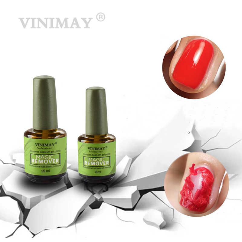 Vinimay Nagellak Magic Remover Nail Polis Remover Soak Off Nagellak Gelpolish Nail Art Primer Lak