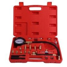 0-140 PSI Fuel Injection Pump Injector Tester Pressure Gauge Gasoline Car Vehicle Oil Combustion Spraying Diagnostics Tool