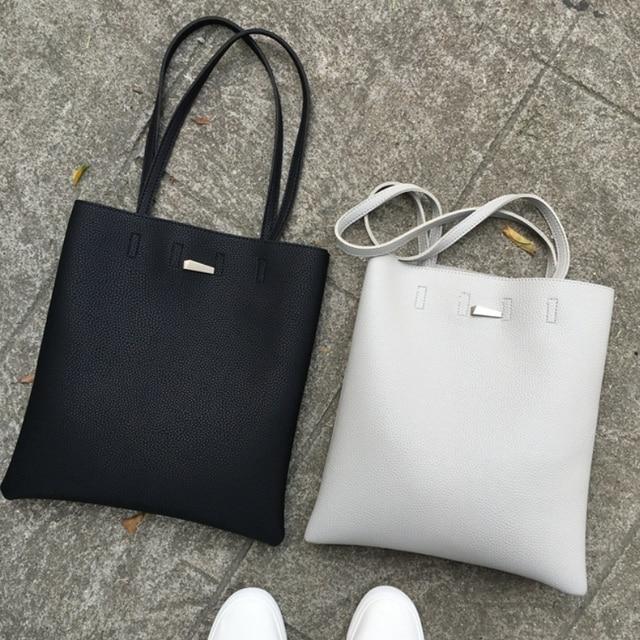 0b836ca147f6 Famous Brand Fashion Women Bucket Bags High Quality Leather Women Shoulder  Bags Ladies Handag Big Capacity