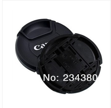 Camera Lens Cap 10pcs/lot 49mm 52mm 55mm 58mm 62mm 67mm 72mm 77mm 82mm LOGO for Canon