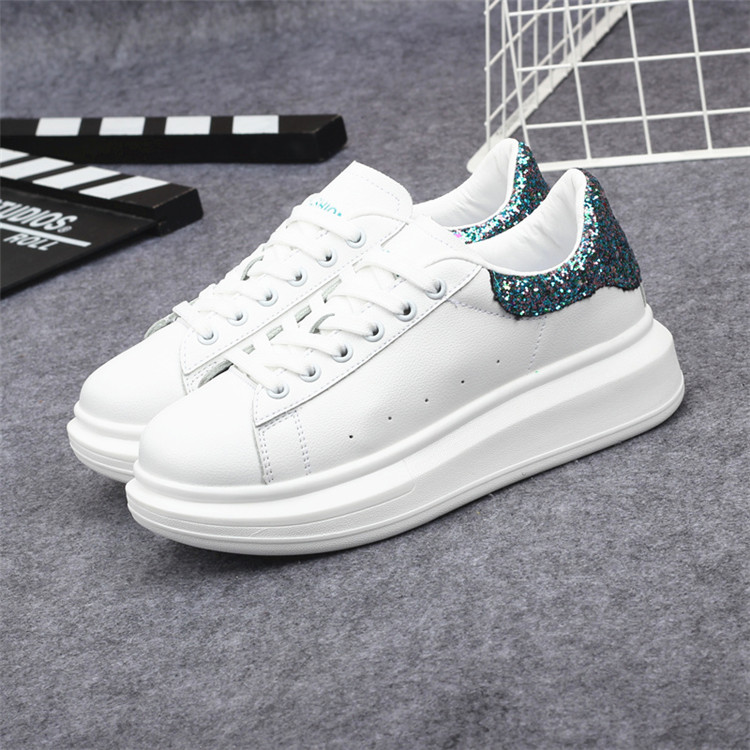 New Fashion Vulcanize Shoes Trainers Women Sneakers Casual Shoes Basket Femme PU Leather Tenis Feminino Zapatos Mujer Plataforma 70