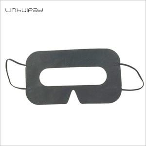 Image 2 - Linhuipad Universal 100 pack Hygiene VR Mask Pad Black Disposable Eye mask for Vive Oculus Rift 3D Virtual Reality Glasses